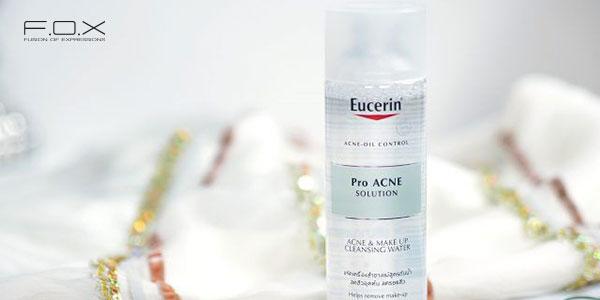 Nước tẩy trang dành cho da hỗn hợp mụn Eucerin Pro Acne Solution Acne - Make Up Cleansing Water