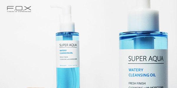 Nước tẩy trang tốt cho da hỗn hợp - Missha Super Aqua Fresh Cleansing Liquid