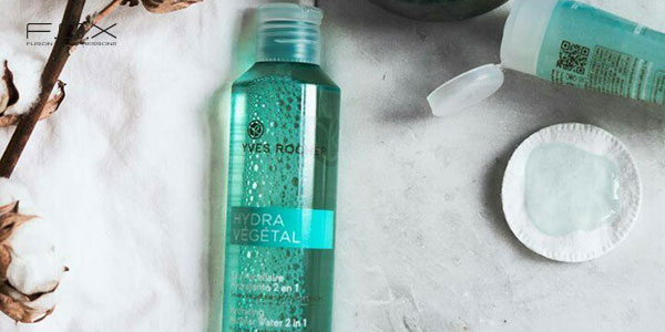 Nước tẩy trang tốt nhất cho da hỗn hợp thiên khô - Yves Rocher Hydrating Micellar Water 2in1