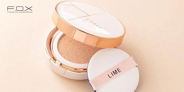Phấn nước Hàn Quốc dành cho da khô Lime Real Cover Pink