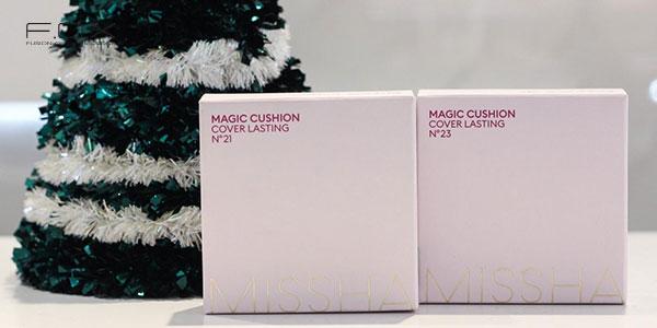 Phấn nước Missha hồng - Missha Magic Cushion Cover Lasting SPF50+ PA+++