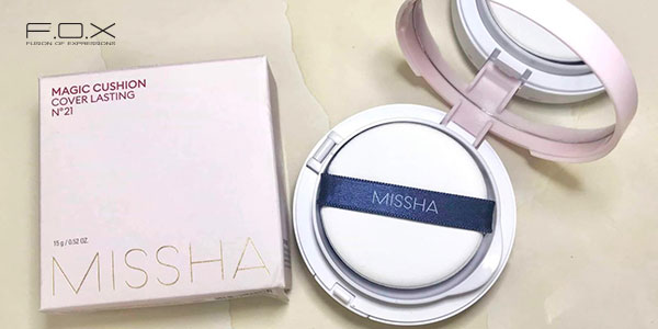 Phấn nước Missha Magic Cushion Cover Lasting SPF 50+ PA+++