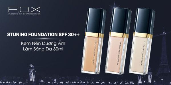 Kem nền nội địa Trung Stunning Liquid Foundation SPF 30++