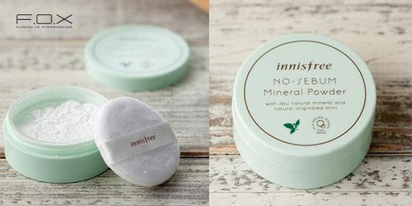 Phấn phủ Innisfree No Sebum Mineral Powder