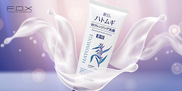 Sữa rửa mặt cho da khô của Nhật Bản Hatomugi
