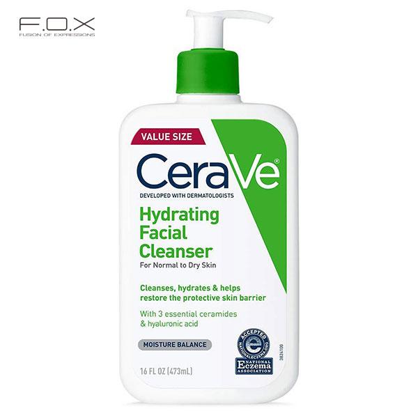 Sữa rửa mặt trị mụn cám Cerave Hydrating Cleanser
