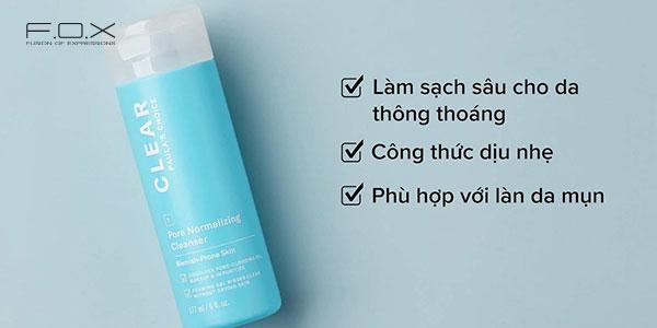 Sữa rửa mặt trị mụn cám Paula's Choice Clear Pore Normalizing Cleanser