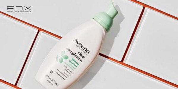 Sữa rửa mặt trị mụn cho da dầu Aveeno Clear Complexion Foaming Cleanser