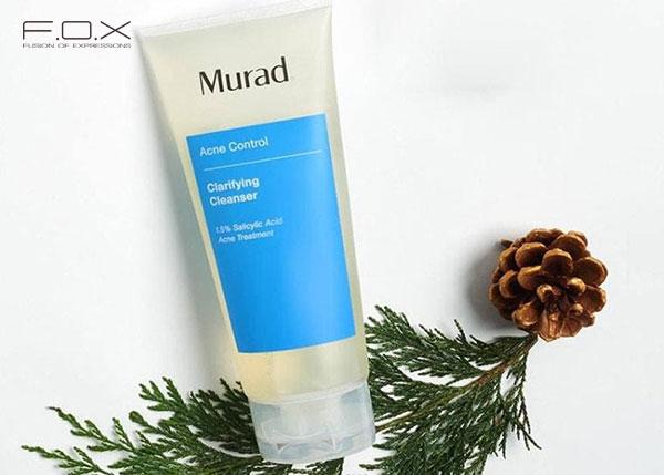 Sữa rửa mặt trị mụn cho da dầu Murad Clarifying Cleanser