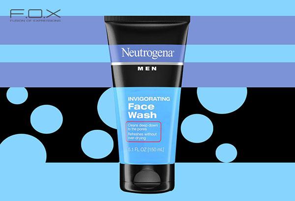 Sữa rửa mặt trị mụn cho nam Neutrogena Men Invigorating Face Wash