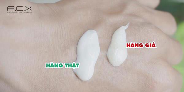 Cách nhận biệt sữa rửa mặt Innisfree giả