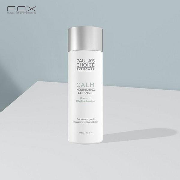 Sữa rửa mặt cho da mụn đầu đen Paula's Choice Calm Redness Relief Cleanser