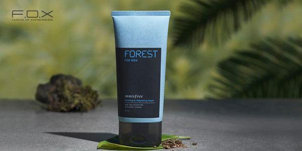 Sữa rửa mặt trị mụn thâm cho nam Innisfree Forest For Men